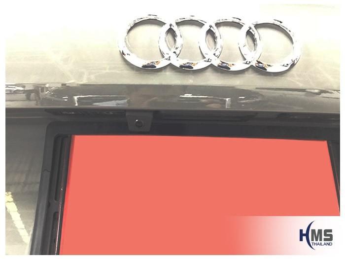 20180828 Audi_Q2_Rear_camera,Rear camera,จอถอยหลัง,กล้องมองหลัง,กล้องถอยหลัง,หมุนตามพวงมาลัย,PAS,Park assistant system