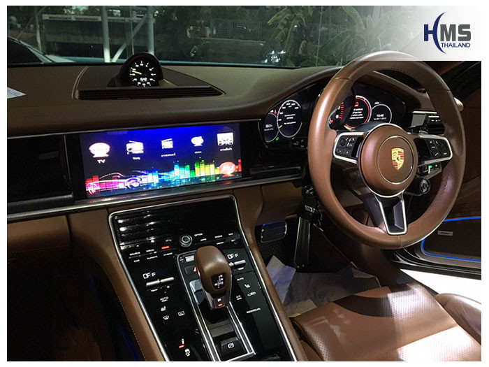 20190511 Porsche Panamera4 TV Digital ASUKA HR600 Main menu zoom