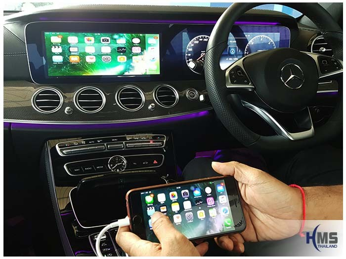 20170110 Benz E220d_W213_digitaltv_iphone av adaptork_View_Air playl_main menu