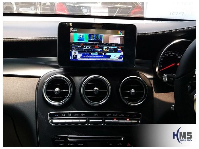 20180619 Mercedes Benz GLC250d_W253_TV Digital_ASUKA_HR630_TV,ทีวีติดรถยนต์,ติดรถยนต์ ,ทีวีในรถ ,ทีวีรถยนต์, ทีวีติดรถ ,ทีวีดิจิตอลรถยนต์ , tv ในรถยนต์ , tv tuner รถยนต์ ,ดิจิตอลทีวีในรถยนต์, tv digital รถยนต์ , จูนเนอร์ทีวีติดรถยนต์
