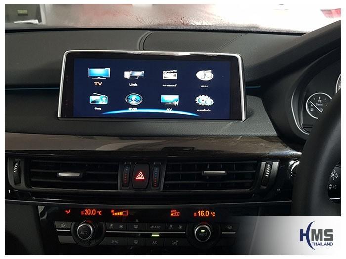 20180604 BMW X5_F15_TV Digitlal_ASUKA_HR630_Main_MENU,ทีวีดิจิตอล,ดิจิตอลทีวี,ทีวีติดรถยนต์,ทีวีในรถ,
