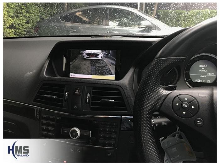 20180521_Mercedes Benz_C350_W204_rear camera_view