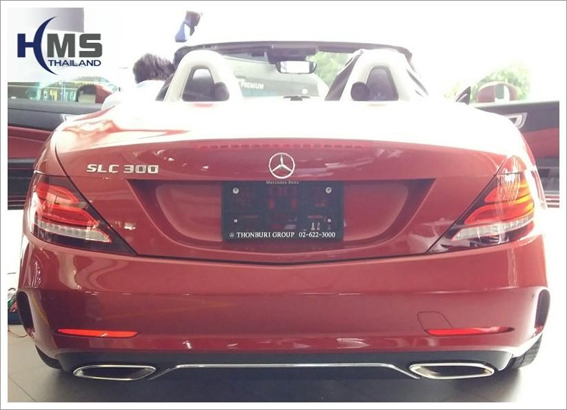 Mercedes Benz SLC300 DVR_BlackVue DR650GW_2CH