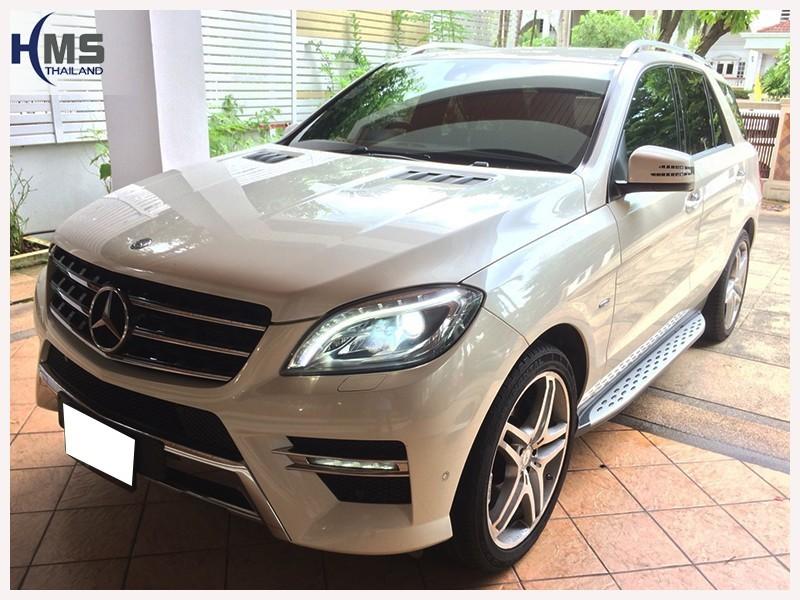 20180705 Mercedes Benz ML250_W166_front,ติดตั้งรถ Mercedes Benz ML250