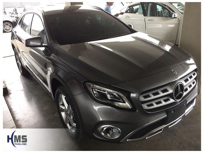 20180811 Mercedes Benz GLA200_W156_front,ติดกล้องติดรถยนต์บนรถ Mercedes Benz GLA200 W156