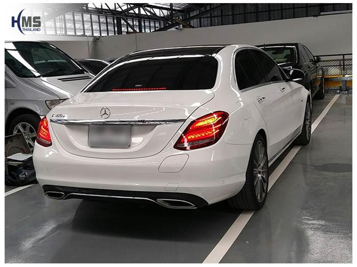 20170823 Mercedes Benz C350e W205_back
