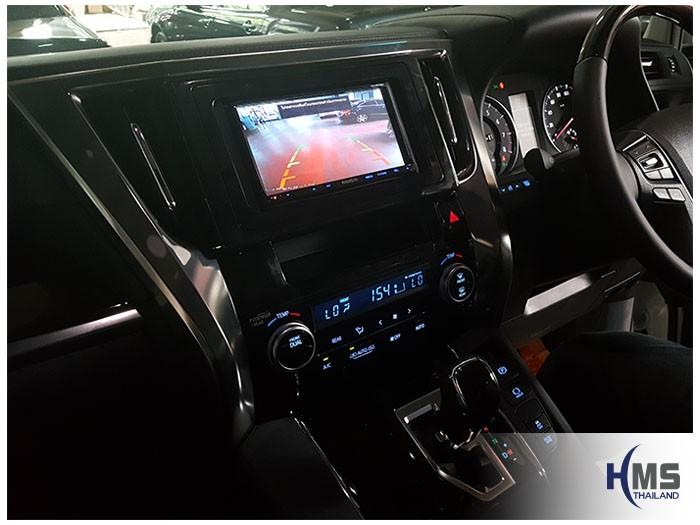 20170816 Toyota Alphard_DVD Player_Kenwood_DDX6016BT_Rear_View