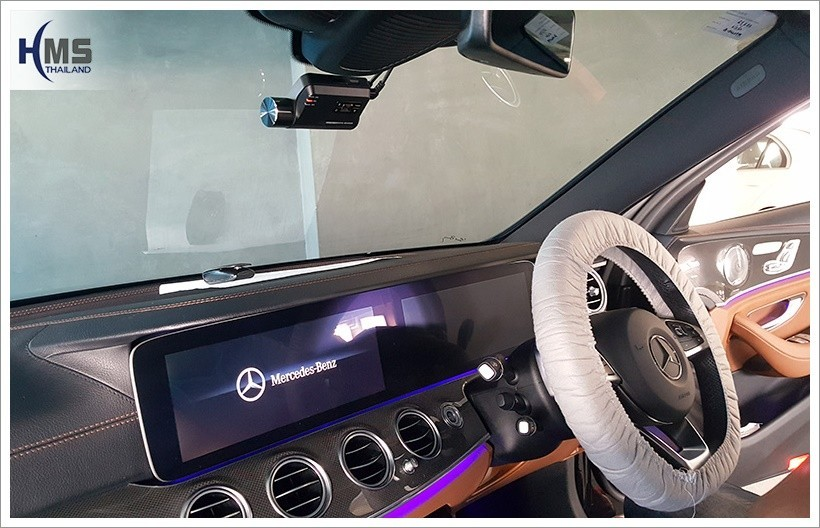 20180207 Mercedes Benz E350e W213 DVR_Thinkware_F800_front
