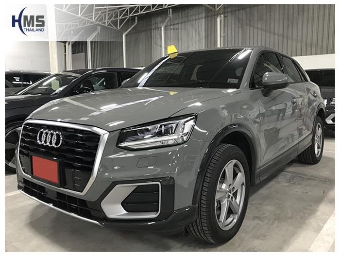 20180828 Audi_Q2_front,ติดกล้องถอยหลังบนรถ AUDI Q2