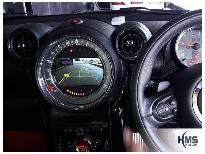 20180607 MINI Cooper SD Countryman_Rear camera_view,หมุนตามพวงมาลัย,PAS,Park assistant system,