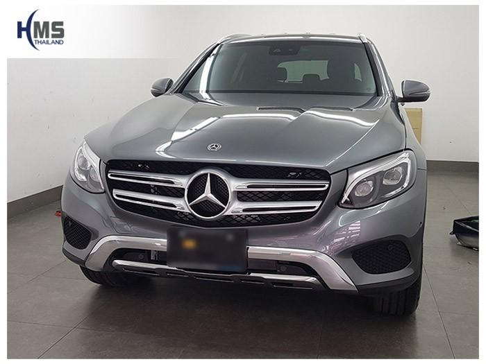 20180625 Mercedes Benz GLC250d_W253_front,ติดกล้องหน้ารถ บน Mercedes Benz GLC250d W253