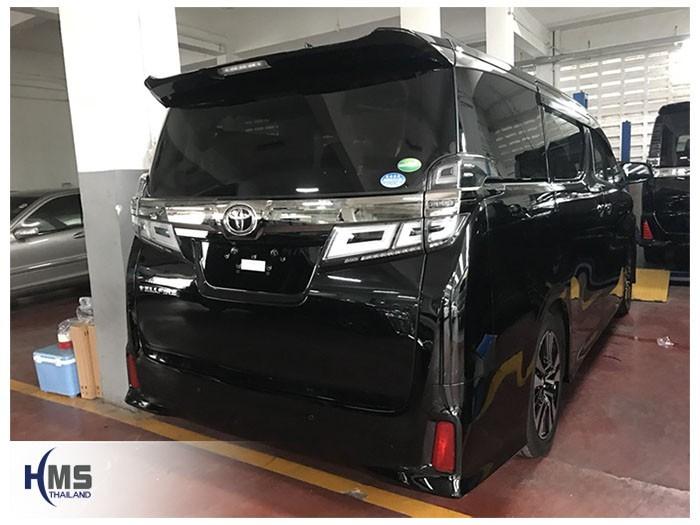 20180809 Toyota Vellfire_back,โตโยต้า,Alphard,