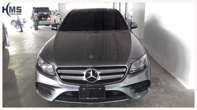 20190418 Mercedes Benz E350e W213_front,รถ Mercedes Benz E350e W213 ติดตั้งกล้องหน้ารถโดย HMS Thailand