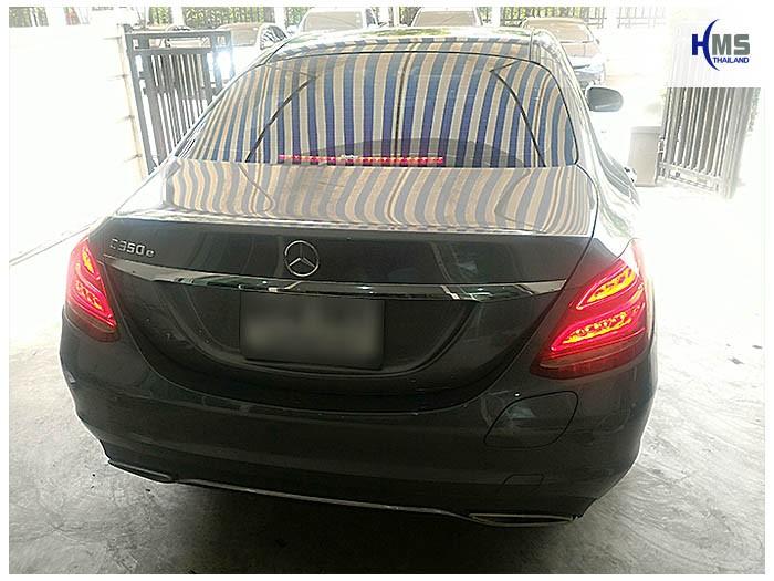 20170822 Mercedes Benz C350e W205_back