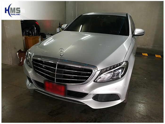 20170907 Mercedes Benz c350e_W205_front