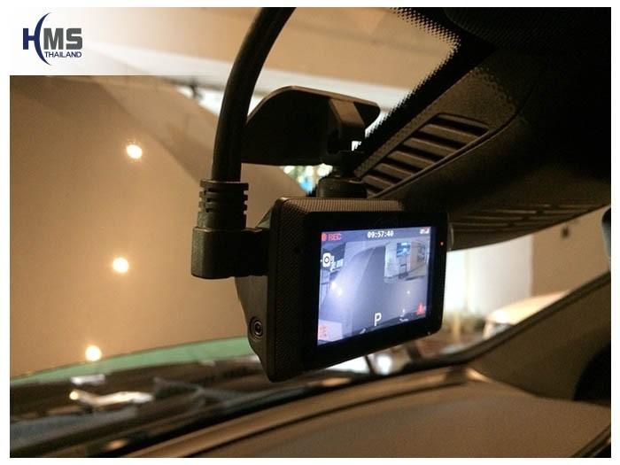 20180828 Mercedes Benz GLC250_Coupe_DVR_Mio_MiVue_786_Wifi,กล้องติดรถยนต์ Mio MiVue 786 Wifi ติดตั้งหน้ารถ Mercedes Benz GLC250d 4MATIC