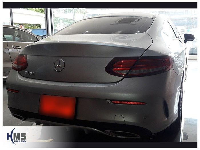 20180516 Mercedes Benz C250_coupe_W205_back
