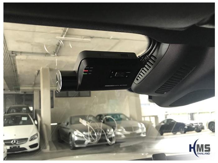 20180530 Mercedes Benz E350e_W213_DVR_Thinkware_F800_Pro_front,ติดตั้งกล้องติดรถยนต์