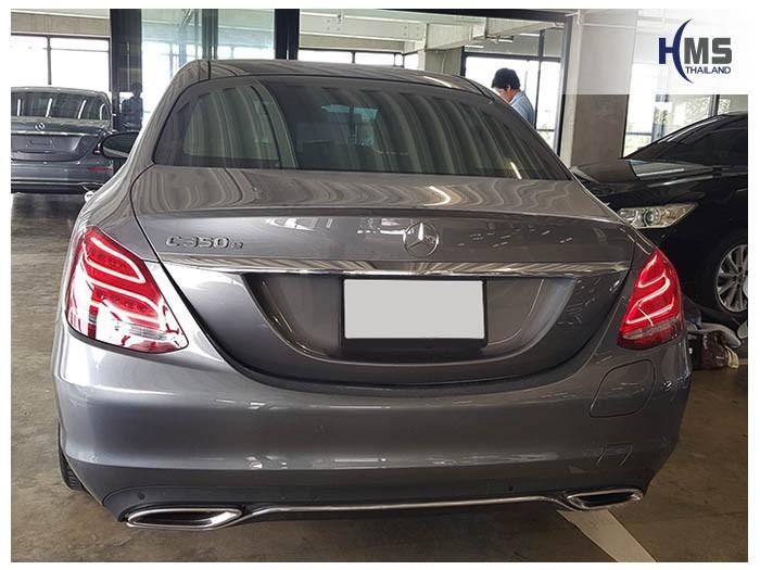 20180904 Mercedes Benz C350e_W205_back,ภาพท้ายรถ Mercedes Benz C350e W205