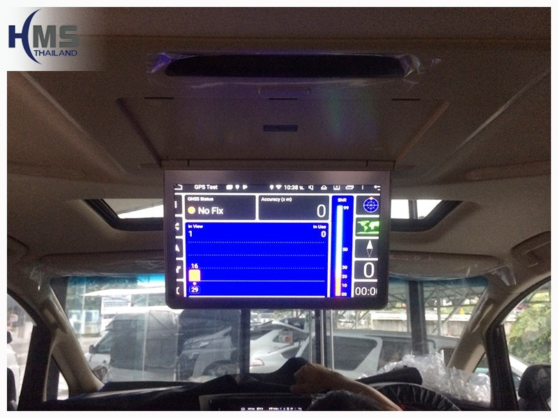 20180717 Toyota Alphard_Roof monitor_Zulex_156,จอเพดาน