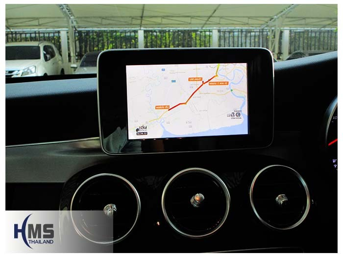 20161201 Benz C180_W205_Digital TV_AZUKA_HR600