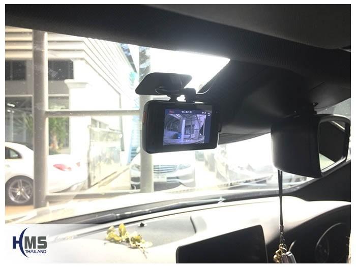 20180908 Mercedes Benz GLA250_W156_DVR_Mio_MiVue_792_location,จุดติดตั้งกล้องติดรถยนต์ Mio MiVue 792 หน้ารถ Mercedes Benz GLA250