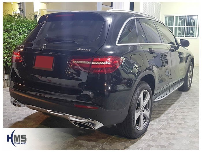 20180830 Mercedes Benz GLC250d_W253_back,ภาพท้ายรถ Mercedes Benz GLC250d W253 4MATIC