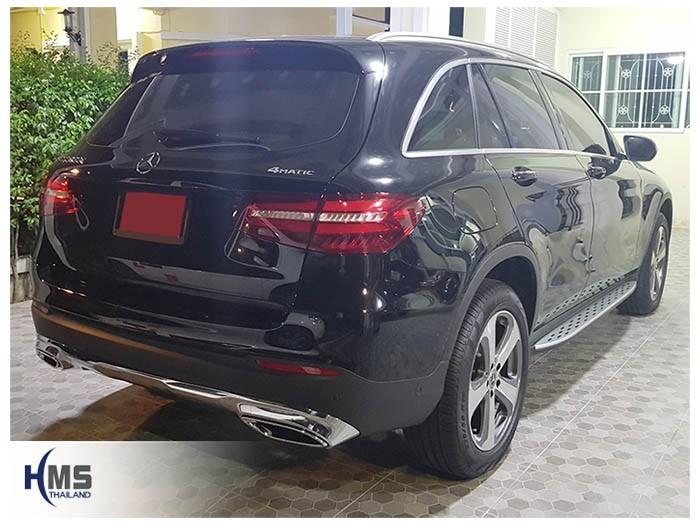 20180830 Mercedes Benz GLC250d_W253_back,ภาพท้ายรถ Mercedes Benz GLC250d W253 4MATIC