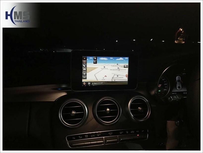 20171229 C350e SpeedNavi Navigation Box