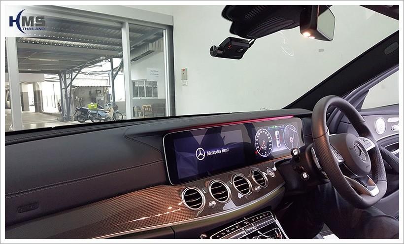 20180217 Mercedes Benz E350e W213 DVR_Thinkware_F800_front