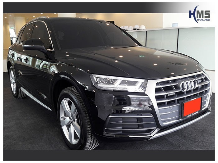 20180811 Audi Q5_front,ติดกล้องถอยหลังบนรถ AUDI Q5 35 TDI Quattro