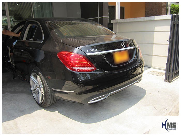 20150420 Mercedes Benz C180 W205_back