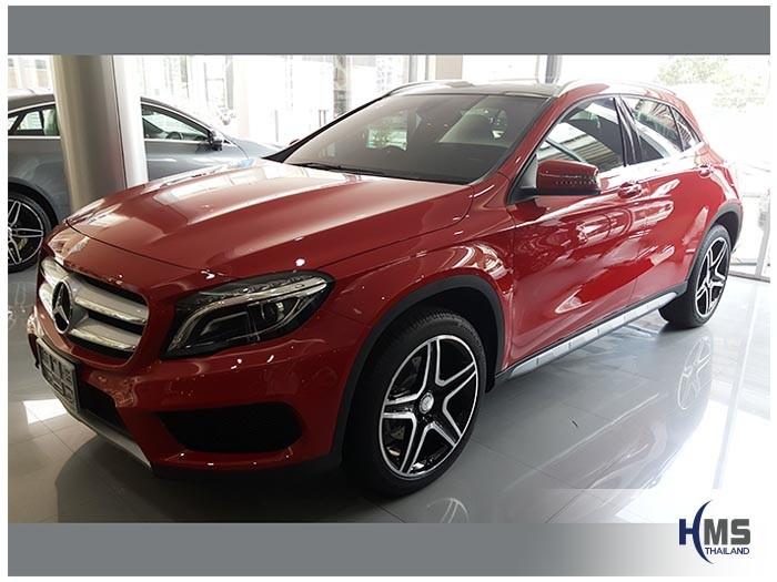 20170809 Mercedes Benz GLA200_X156_front_Left