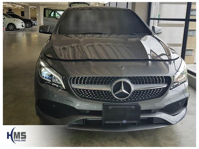 20180626 Mercedes Benz CLA250_C117_front,ติดกล้องหน้ารถ บน Mercedes Benz CLA250 C117