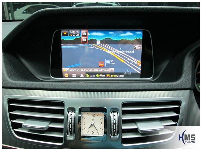 20150217 Mercedes Benz E200 W212_Navigation box_TC5000_SpeedNavi_TMC