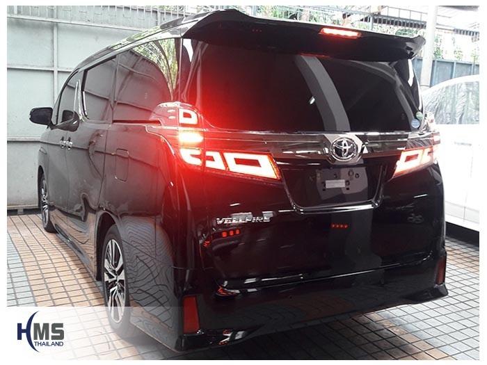 20180903 Toyota Vellfire front,ภาพท้ายรถ Toyota Vellfire
