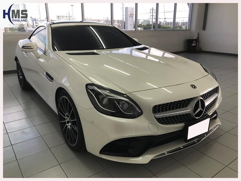 20180704 Mercedes Benz SLC300 R172_front