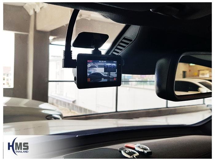 20180904 Mercedes Benz GLC250d_W253_DVR_Mio_MiVue_786_Wifi,ภาพกล้องติดรถยนต์ Mio MiVue 786 Wifi ติดตั้งหน้ารถ Mercedes Benz GLC250d W253