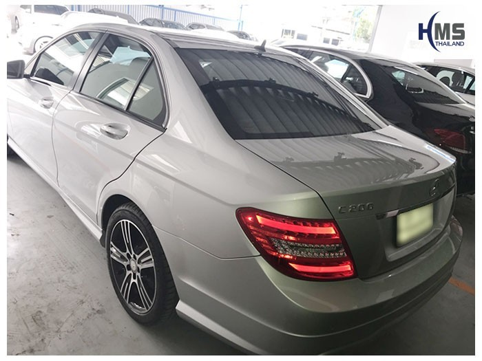 20180531 Mercedes Benz C200_W204_back,ท้ายรถ Mercedes Benz C200