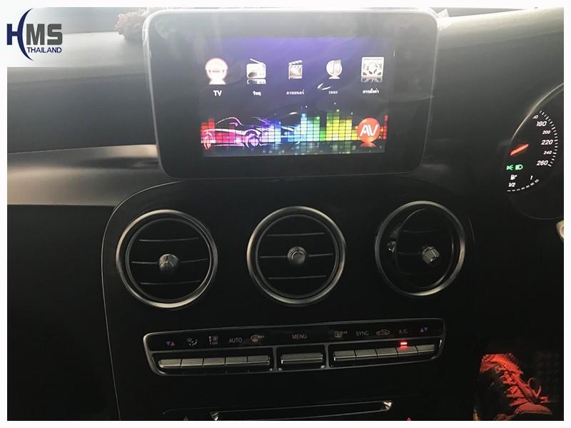 20180707 Mercedes Benz GLC250_Coupe_TV Digital_ASUKA_HR600_main menu,TV Digital, ทีวีดิจิตอล, ดิจิตอลทีวี, ทีวีติดรถยนต์, TV ติดรถยนต์, ทีวีในรถ , ทีวีรถยนต์, Digital TV,ทีวี