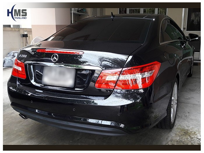 20180518 Mercedes Benz E200 W212_back