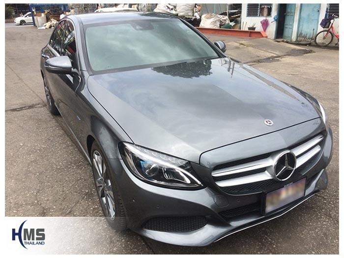 20180821 Mercedes Benz C350e_W205_front,ติดกล้องติดรถยนต์บนรถ Mercedes Benz C350e W205