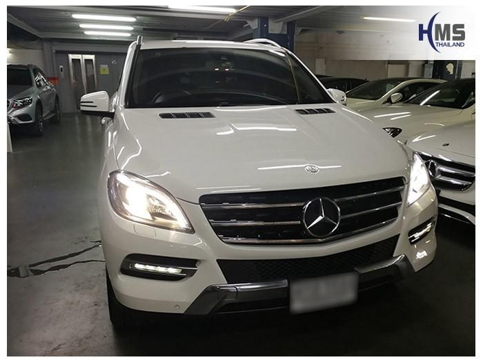 20180605 Mercedes Benz ML250_W166_front,ติดตั้งรถ Mercedes Benz ML250