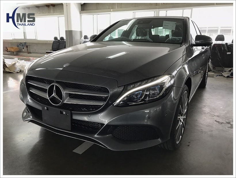 20170718 Mercedes Benz C350e W205_front