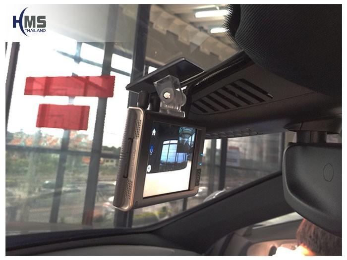 20180903 Mercedes Benz E350e_W213_DVR_Thinkware_QX800_front,กล้องติดรถยนต์ Thinkware QX800 ตัวหน้าติดตั้งหน้ารถ Mercedes Benz E350e