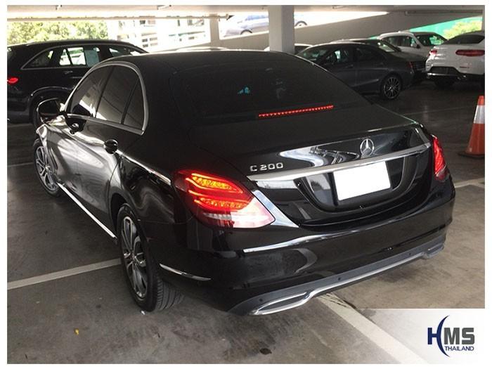 20180801 Mercedes Benz C200 W205_back,Benz, Mercedes ,เบนซ์ ,เมอร์เซเดส, ซาลูน,ราคาเบนซ์,facelift ,Brabus ,AMG ,Bluetec ,Hybrid,ไฮบริด