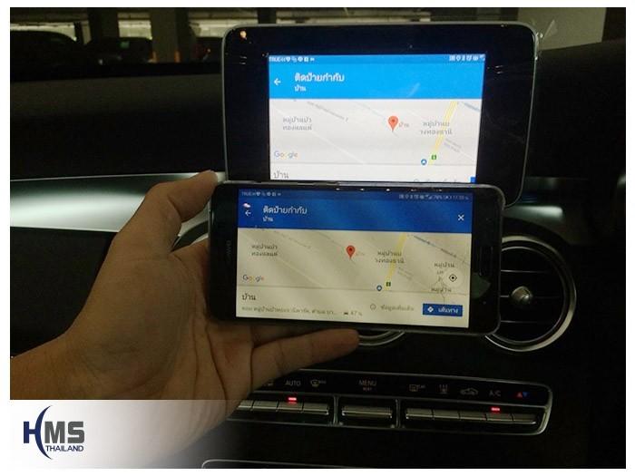 ติด Screen mirror บน Mercedes Benz C350e W205