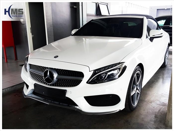 Benz C300 W205_front