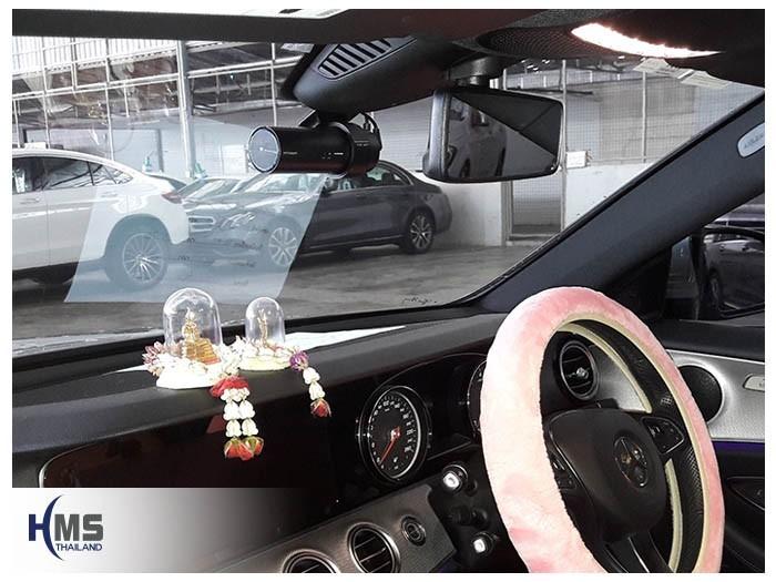 Mercedes Benz E350e W213 (DVR BlackVue DR750s 2CH)