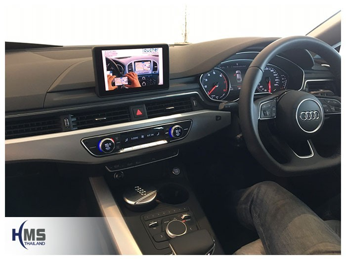 20190502 Audi A5 40TFSI Wifi box main menu